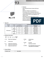 793-P-1C Relay Data Sheet