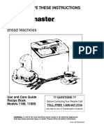 Manual Toastmaster Bread and Butter Maker PDF-crack
