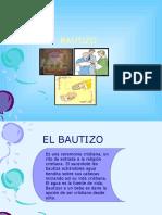 BAUTIZO CONFIRMACION