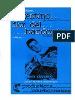 Accordeon Flor Del Bandoneon