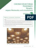 CONSTRUCCION DE FORMAS POLIGONALES