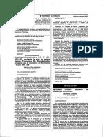 D.S N° 017-2012-ED Politica Nacional de Educacion Ambiental