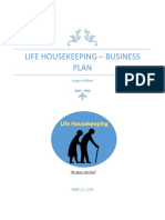 Life Housekeeping Business Plan