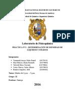 Informe Laboratorio Fisicoquimica Densidades unmsm