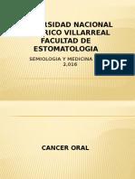 Clase Unfv Cancer Oral