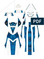 Vf9 Fixed Max paper crafts- saga Robotech Ramon Isidro Martinez