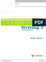 Cambridge English Skills Real Writing Level3 Intermediate Book With Answers and Audio CD Frontmatter