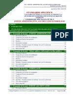 5. Standarde ARACIS- Comisia 5. Sitiinte Administrative BEX CONSULTARE PUBLICA Oct 2016