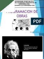 PROGRAMACION OBRAS