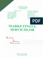 [2006] Marketingul Serviciilor - Ramuri Si Domenii Prestatoare (Alma Mater)