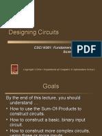 Designing Circuits