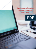 UP IT & Start-UP Policy 2016 Final English Version