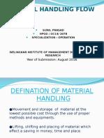 Material Handling Flow Pattern