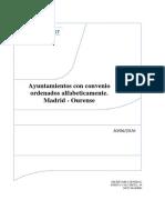 Ayuntamientos Con Convenio Cambio de Domicilio Madrid Ourense