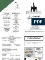 St Andrews Bulletin 1113