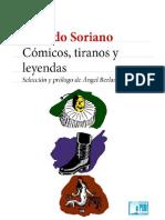 Cómicos, Tiranos y Leyendas - Osvaldo Soriano