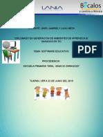 Ensayo Sofware Educativo