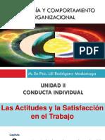 Capitulo 3. Actitudes y La Satisfacción Laboral