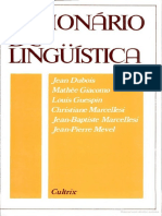 Dicionário de Linguistica