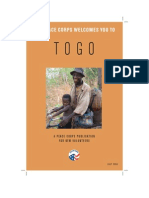 Peace Corps Togo Welcome Book  |  July 2009
