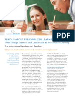 cm-personalized learning