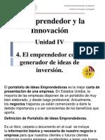 Portafolio de Ideas Emprendedoras