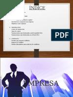 empresa, transacción y conflicto
