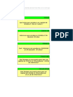 Planilla de Excel Para Calculo de Interes Simple y Compuesto