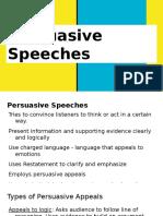 persuasive speeches  1