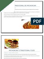 Comida Tradicional de Michoacan