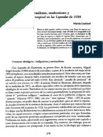 Lienhard, M, Nacionalismo,  modernismo y primitivismo tropical en Leyendas, Asturias.pdf