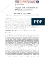 Perez - Between Religion and Nationalism in the Palestinian Diaspora