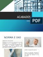ACABADOS VIDRIOS