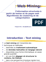 Cours Text Web Mining