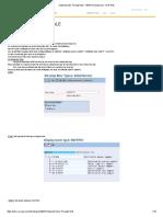 Outbound Idoc Through ALE - ABAP Development - SCN Wiki
