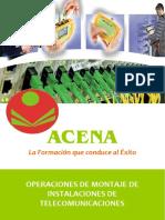 Operaciones de Montaje de Instalaciones de Telecomunicaciones