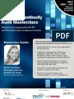 Business Continuity Audit