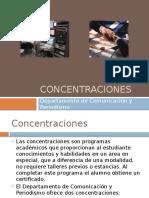 Concentraciones Profesionales Comunicación 2011