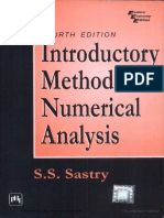 Introductory methods of numerical analysis by S.S. sastry.pdf