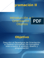 IntroduccionOrientacionAObjetos