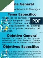 Primeros Pobladores de Nicaragua