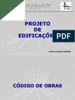 Aula 6 - Projeto de Edificações - Código de Obras