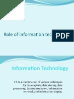 PPT ON Information Technology
