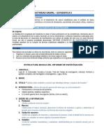 00 Estructura Trabajo de APLICACIÓN Estadística II