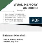 Virtual Memory Android