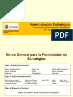 Herramientas de Administración Estratégica