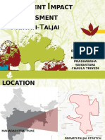 Environmental Impact Assessment of parvati and Talzai