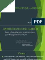 sindrome de mccune  albright