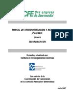 MANUAL DE TRANSFORMADORES Y REACTORES DE POTENCIA