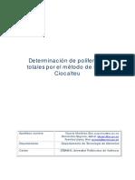 Determinacion de Polifenoles